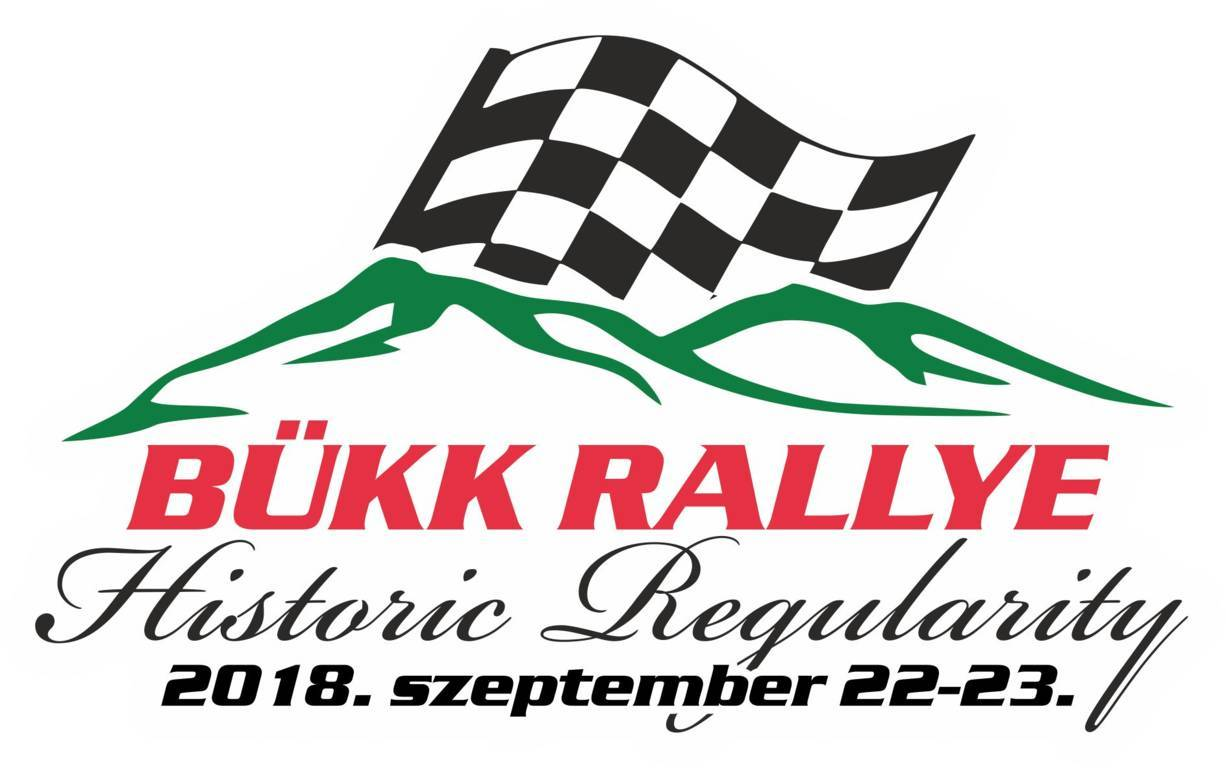 II. Bükk Rallye Historic Regularity. 2018. 09. 22 - 23. plakát